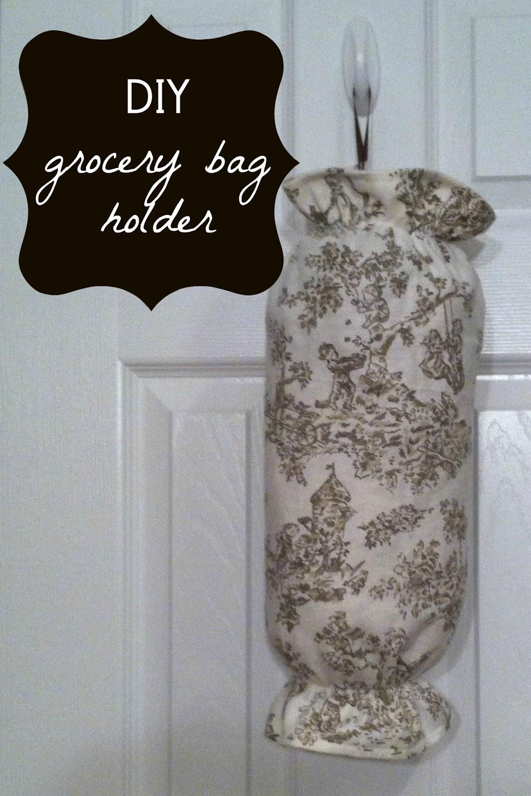 Notes from Kristen: Grocery Bag Holder {DIY}